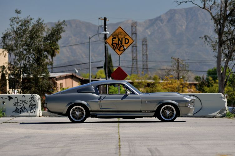 1967 Ford Mustang Shelby GT500 Eleanor Gone in 60 Seconds Muscle Street Rod Machine USA 4288x2848-02 wallpaper