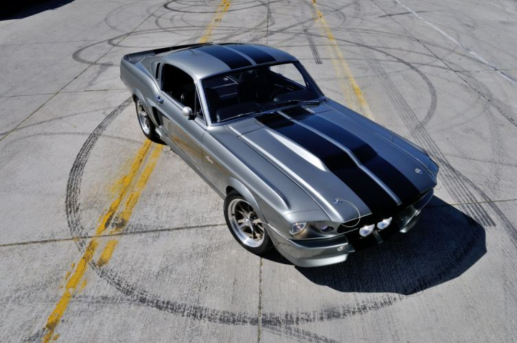 1967 Ford Mustang Shelby GT500 Eleanor Gone in 60 Seconds Muscle Street Rod Machine USA 4288x2848-07 wallpaper