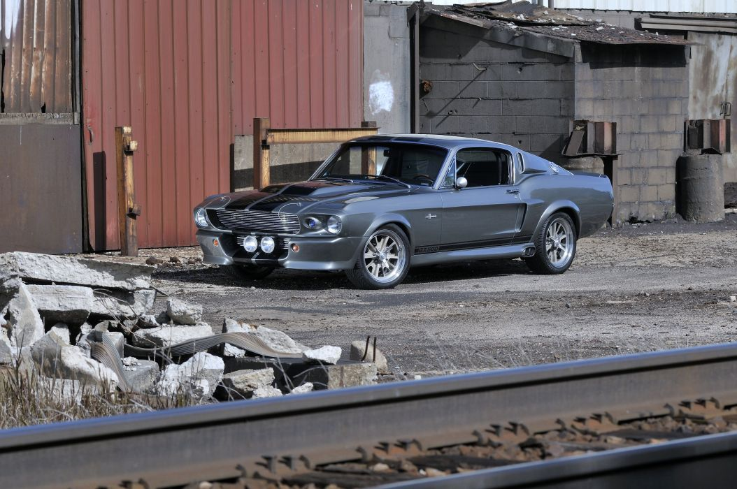 1967 Ford Mustang Shelby GT500 Eleanor Gone in 60 Seconds Muscle Street Rod Machine USA 4288x2848-15 wallpaper
