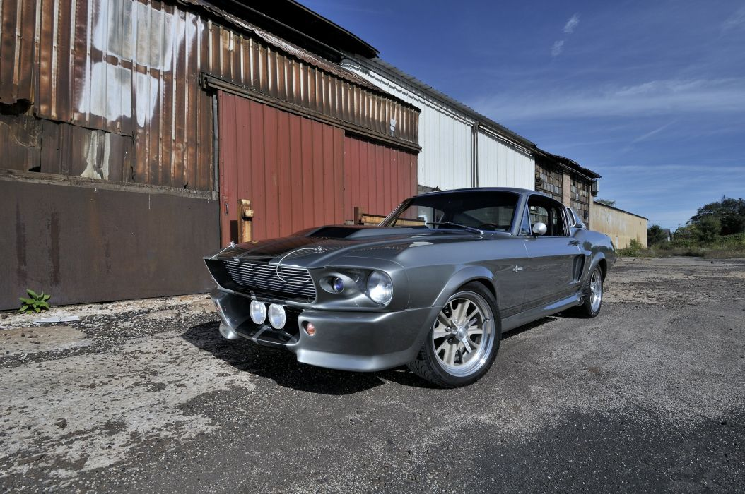 1967 Ford Mustang Shelby GT500 Eleanor Gone in 60 Seconds Muscle Street Rod Machine USA 4288x2848-16 wallpaper