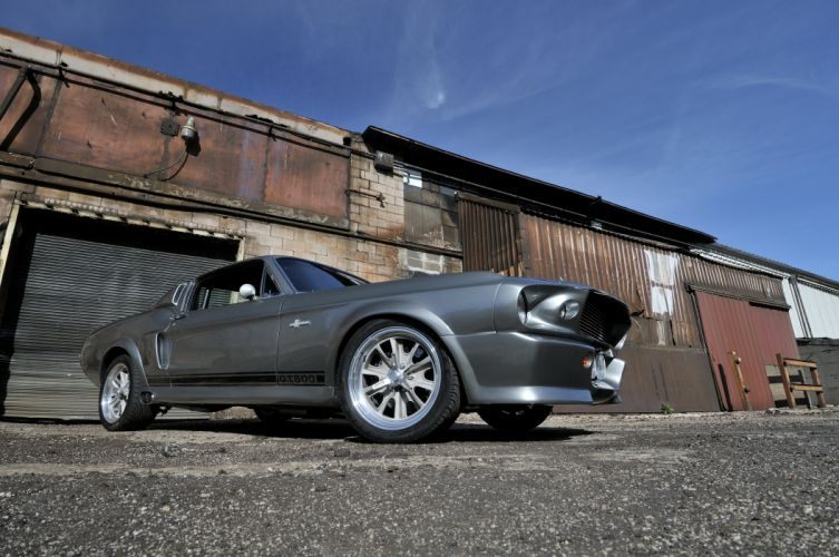 1967 Ford Mustang Shelby GT500 Eleanor Gone in 60 Seconds Muscle Street Rod Machine USA 4288x2848-23 wallpaper
