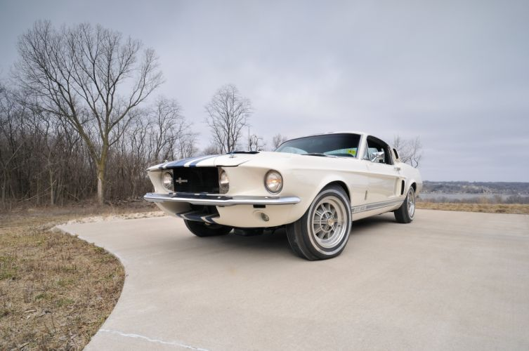1967 Ford Mustang Shelby GT500 Super Snake Muscle Classic Old USA 4288x2848-06 wallpaper