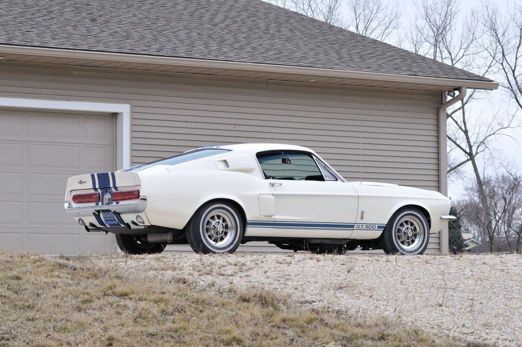 1967 Ford Mustang Shelby GT500 Super Snake Muscle Classic Old USA 4288x2848-08 wallpaper