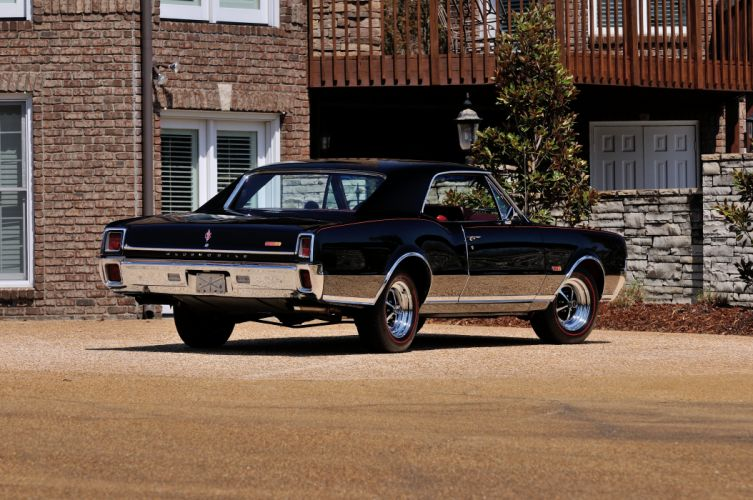 1967 Oldsmobile Olds 442 W30 Black Muscle Classic Old USA 4288x2848-03 wallpaper