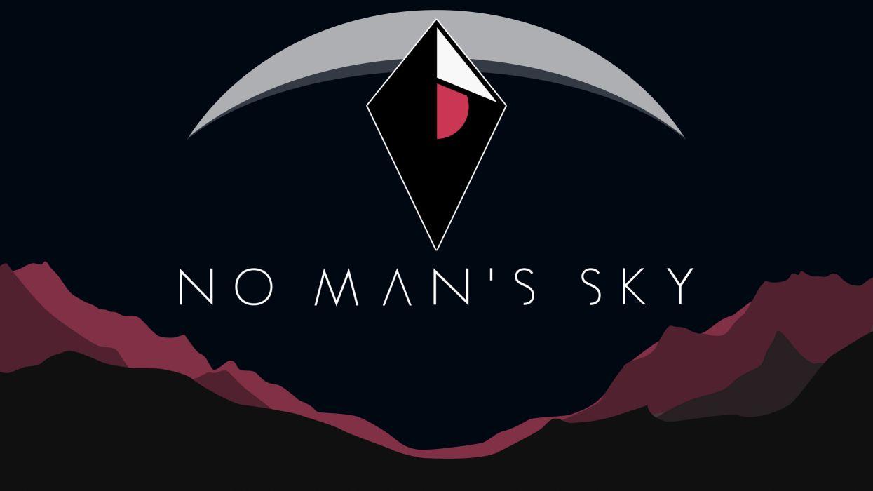 NO MANS SKY sci-fi adventure procedural 1noms exploration survival fpa poster planet stars wallpaper