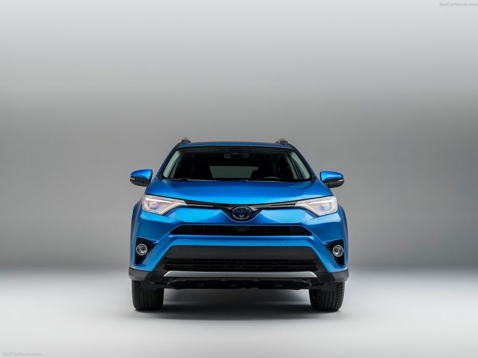 Toyota RAV4 Hybrid electric suv cars 2016 wallpaper