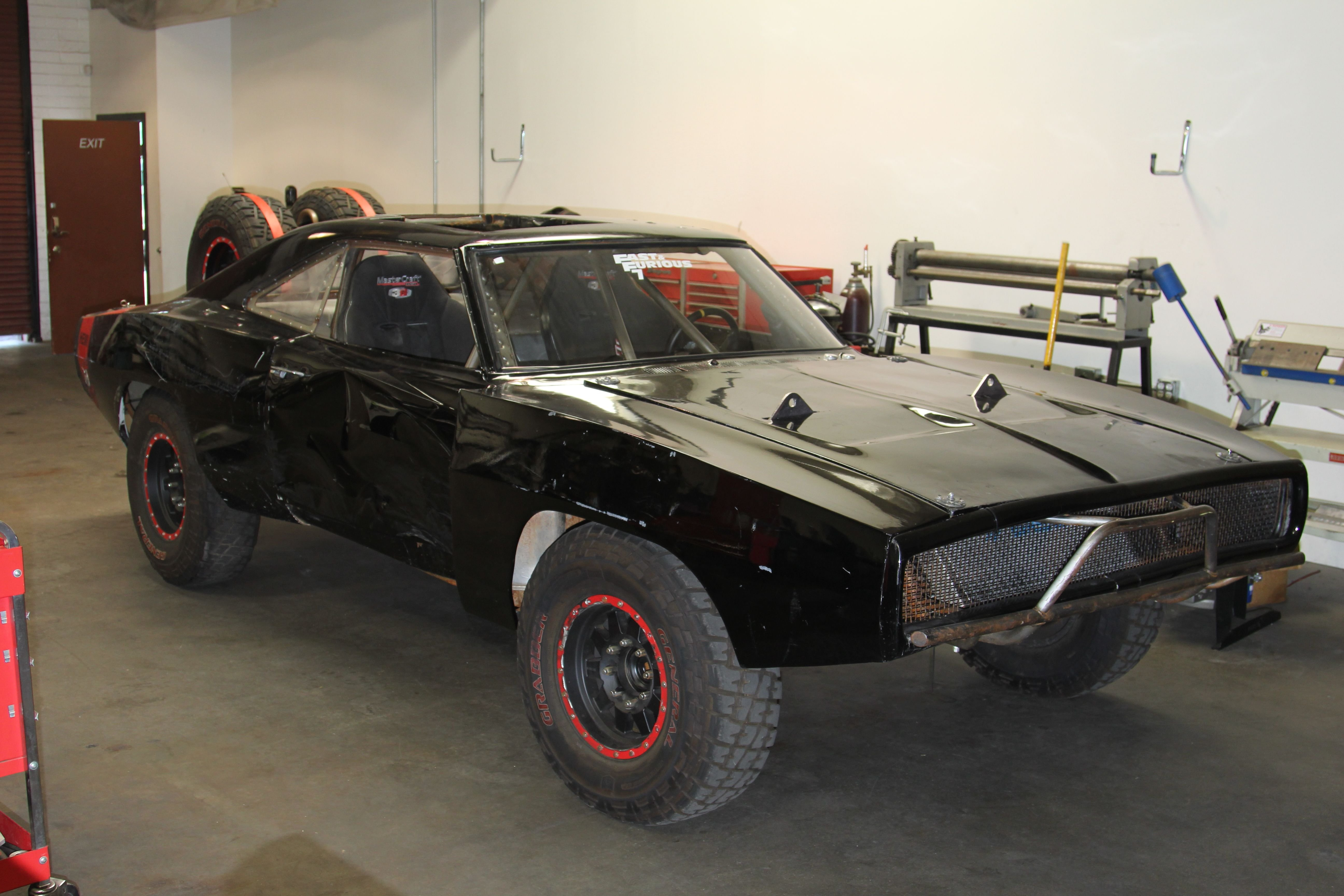 Dodge Challenger 1969 Black >> 1970 Dodge-Charger RT Off Road Fast and Furious-7 Movie ...