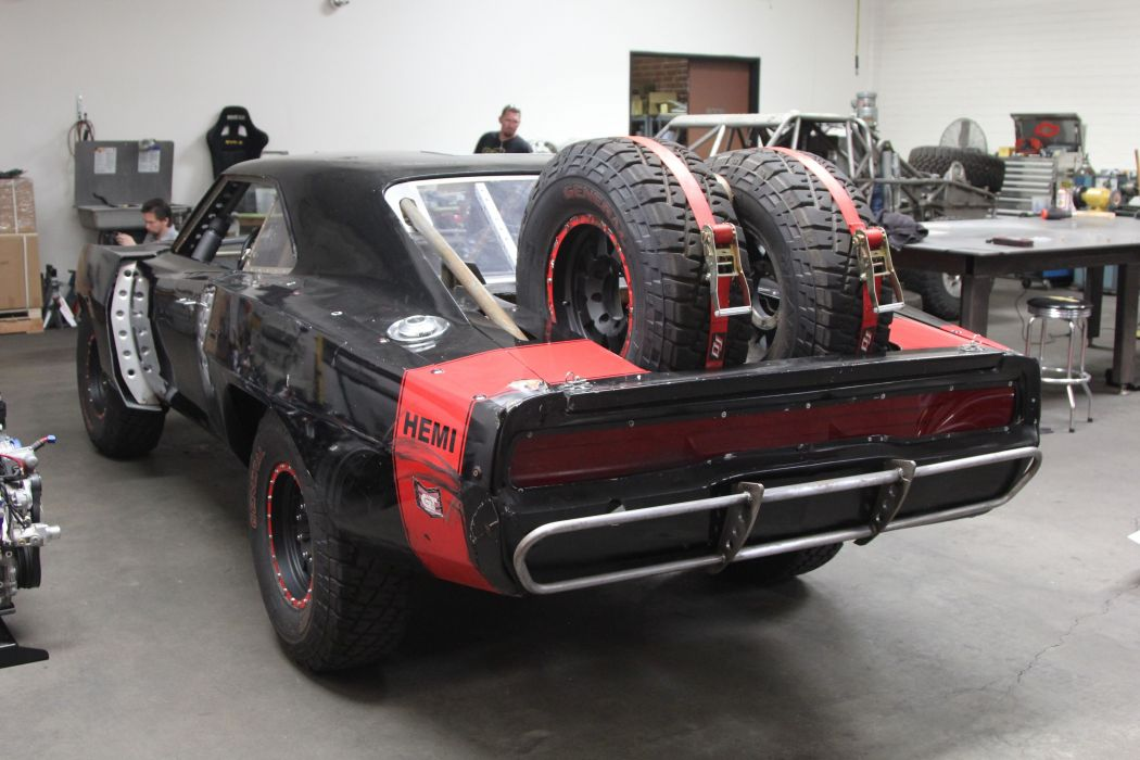 1970 Dodge-Charger RT Off Road Fast and Furious-7 Movie Black USA 5184x3456-03 wallpaper