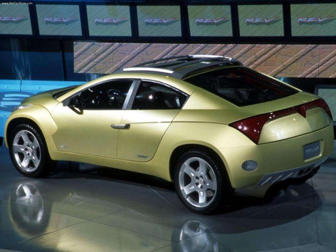 Pontiac REV Concept cars 2002 wallpaper