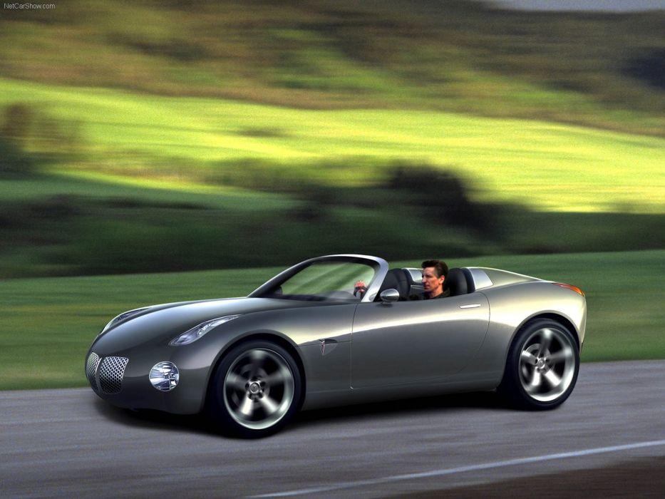 Pontiac Solstice Concept cars convertible 2002 wallpaper