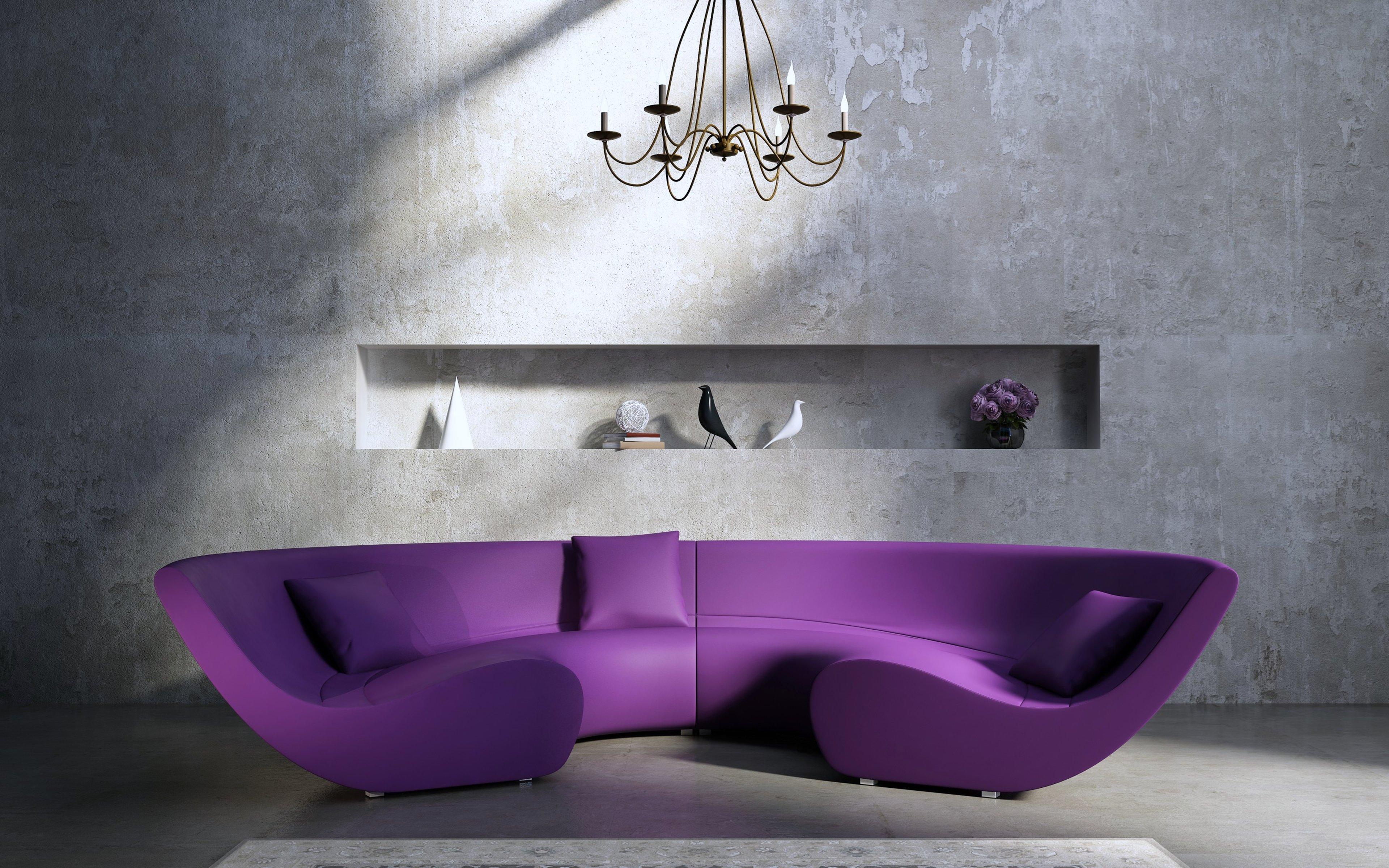 Purple Living Room Furniture Living Room Comfort Curtains Family Fashion Furniture Garden
