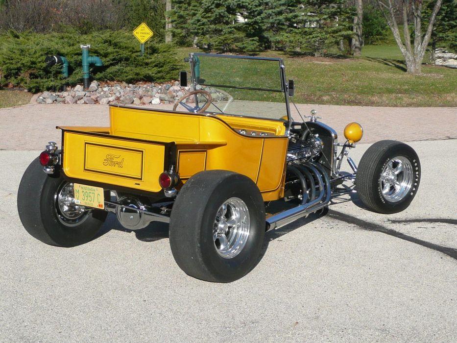 1923 Ford T Bucket Hot Rod Hotrod USA 1600x1200-03 wallpaper