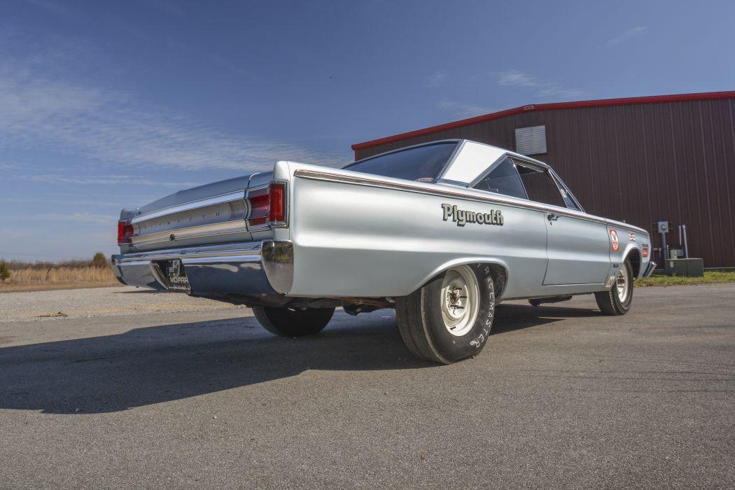 1967 Plymouth Belvedere II RO23 Lightweight Muscle Race Cas Silver Classic USA 6000x4000-03 wallpaper