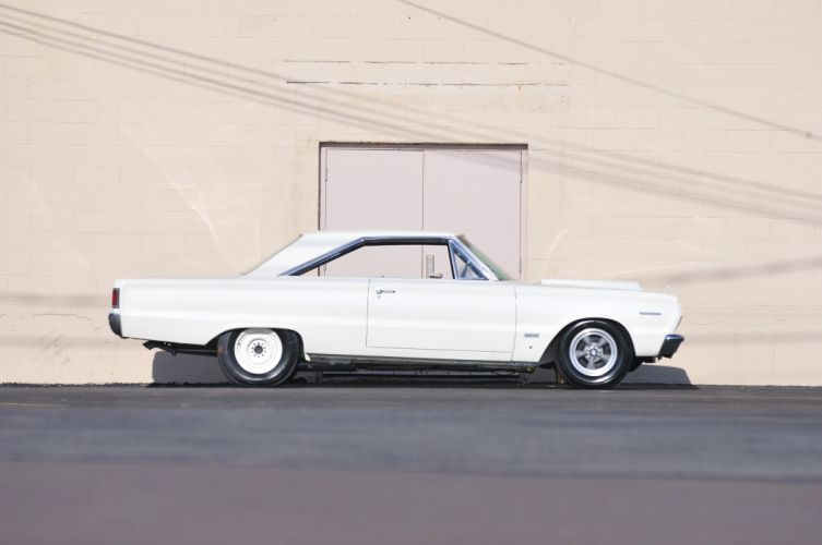 1967 Plymouth RO23 Belvedere Muscle Drag Race White USA 4200x2790-03 wallpaper