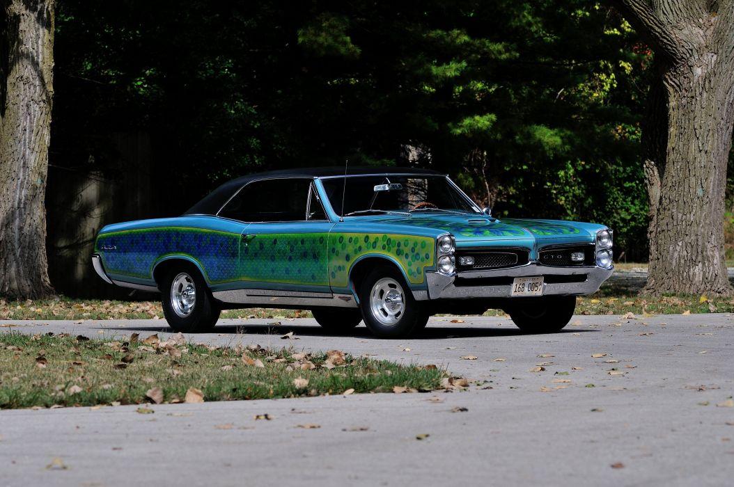 1967 Pontiac GTO Strretcustom Street Custom Paint Muscle Classic USA 4200x2790-01 wallpaper