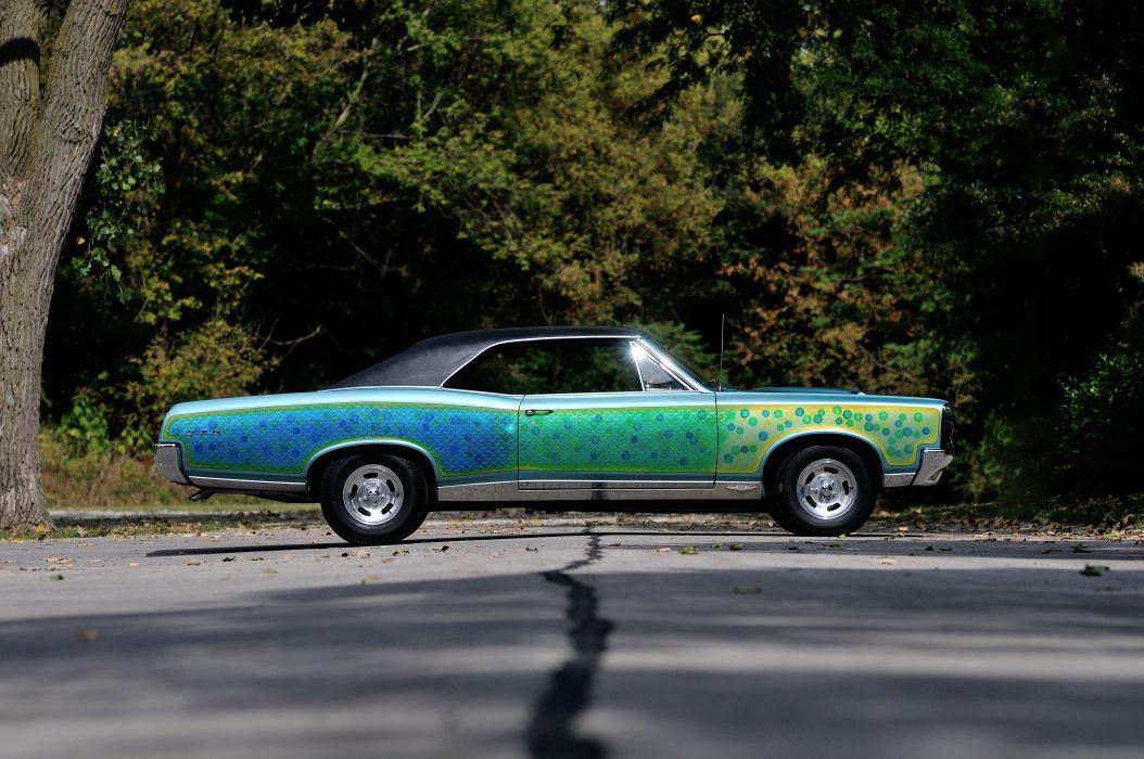 1967 Pontiac GTO Strretcustom Street Custom Paint Muscle Classic USA 4200x2790-02 wallpaper