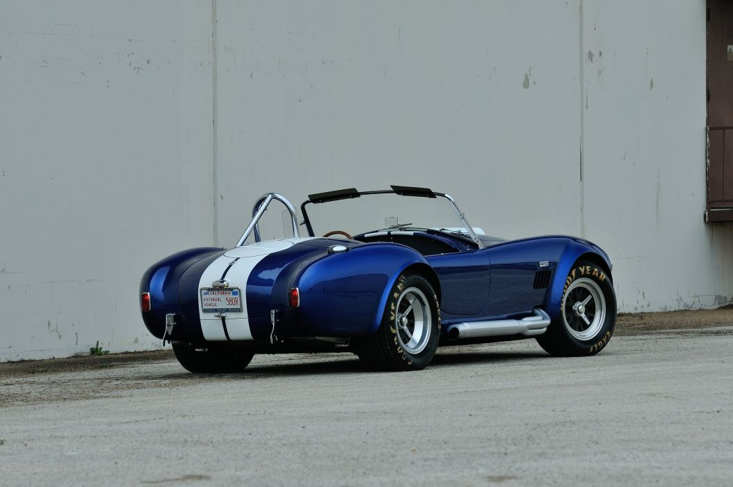 1967 Shelby 427 Cobra Roadster Muscle Classic Old Sport Blue USA 4288x2848-03 wallpaper