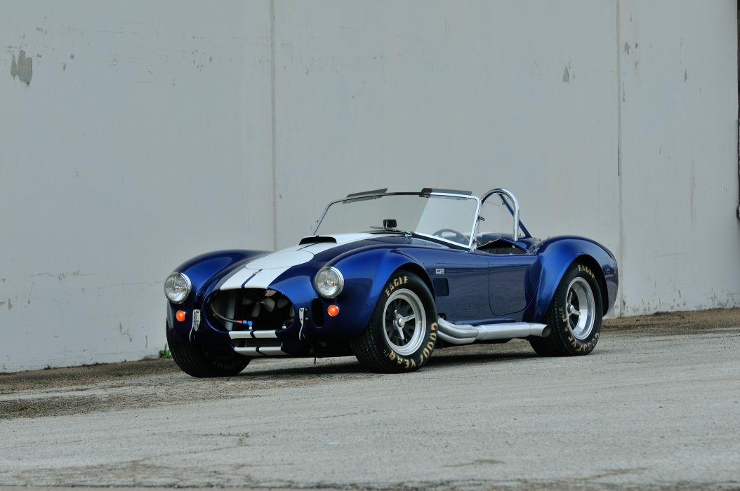 1967 Shelby 427 Cobra Roadster Muscle Classic Old Sport Blue USA 4288x2848-08 wallpaper