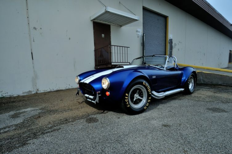 1967 Shelby 427 Cobra Roadster Muscle Classic Old Sport Blue USA 4288x2848-07 wallpaper