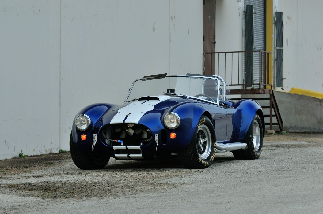 1967 Shelby 427 Cobra Roadster Muscle Classic Old Sport Blue USA 4288x2848-09 wallpaper