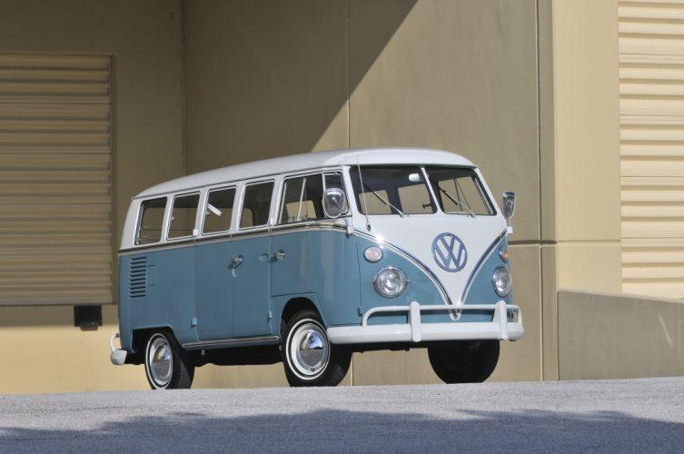 1967 Volkswagen VW 13 Window Bus Kombi Classic Old USA 4288x2848-04 wallpaper
