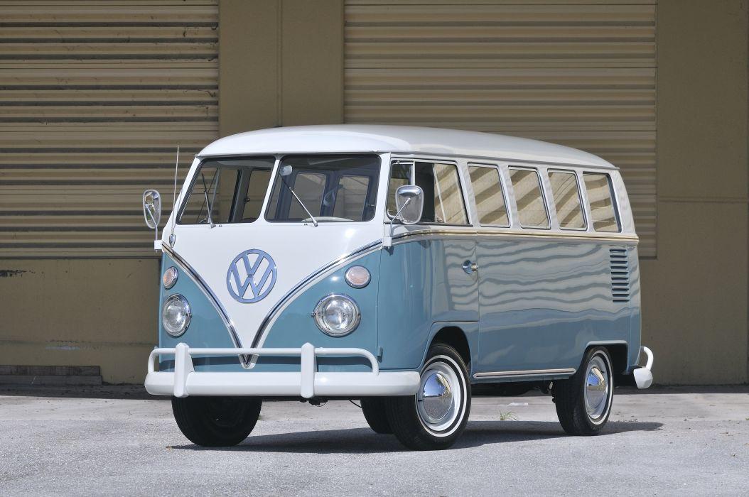 1967 Volkswagen VW 13 Window Bus Kombi Classic Old USA 4288x2848-05 wallpaper