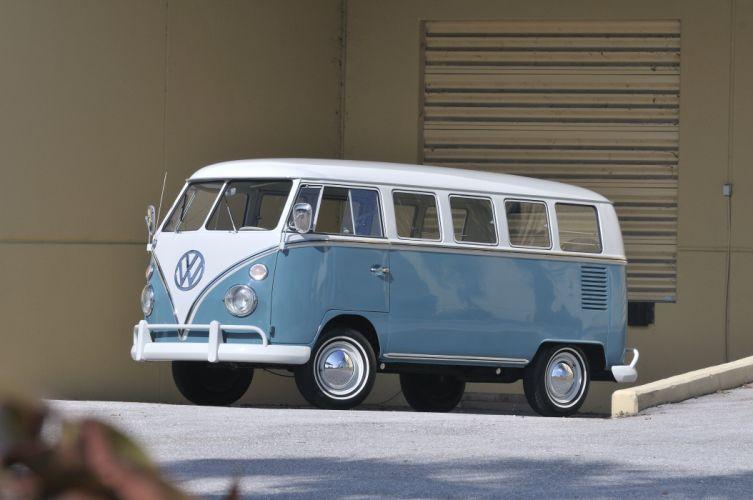 1967 Volkswagen VW 13 Window Bus Kombi Classic Old USA 4288x2848-01 wallpaper