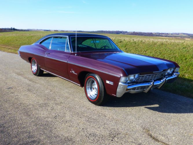 1968 Chevrolet Impala SS Coupe Hardtop Muscle Classic USA 4200x3150-01 wallpaper