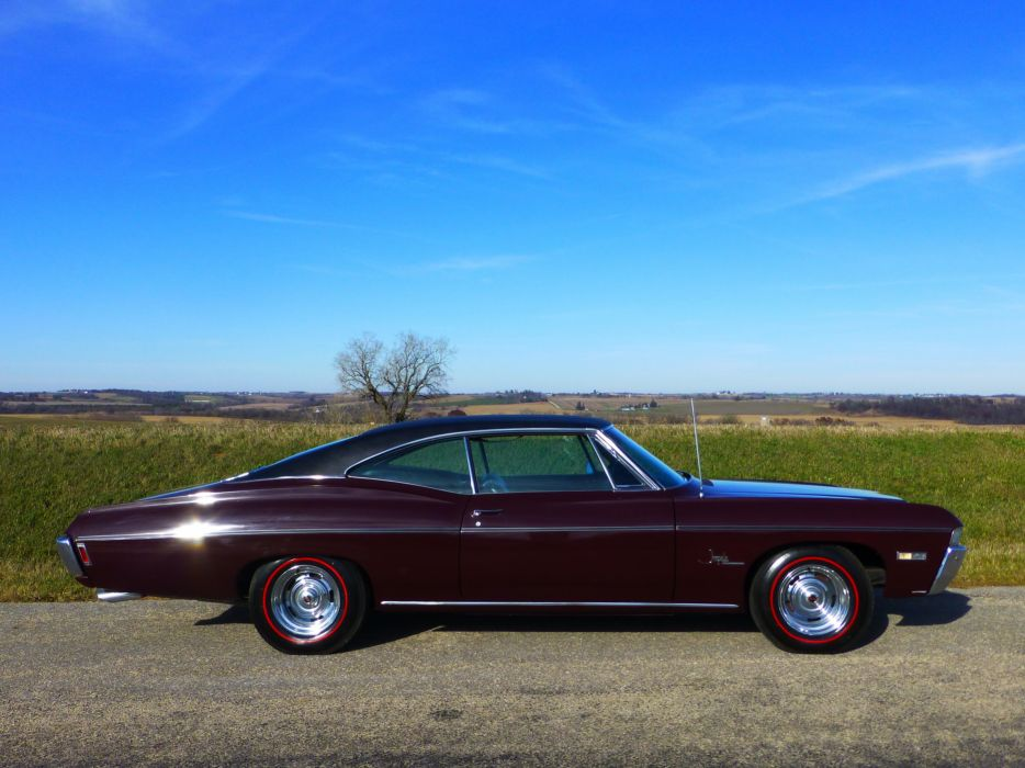 1968 Chevrolet Impala SS Coupe Hardtop Muscle Classic USA 4200x3150-02 wallpaper