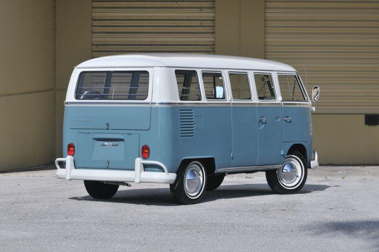1967 Volkswagen VW 13 Window Bus Kombi Classic Old USA 4288x2848-07 wallpaper