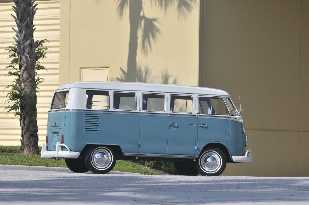 1967 Volkswagen VW 13 Window Bus Kombi Classic Old USA 4288x2848-08 wallpaper
