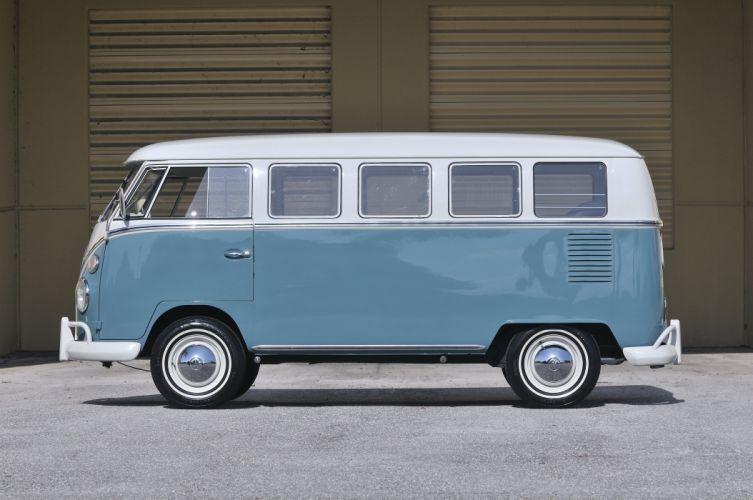 1967 Volkswagen VW 13 Window Bus Kombi Classic Old USA 4288x2848-06 wallpaper