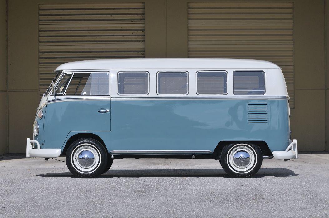 1967 Volkswagen Vw 13 Window Bus Kombi Clic Old Usa 4288x2848 06 Wallpaper