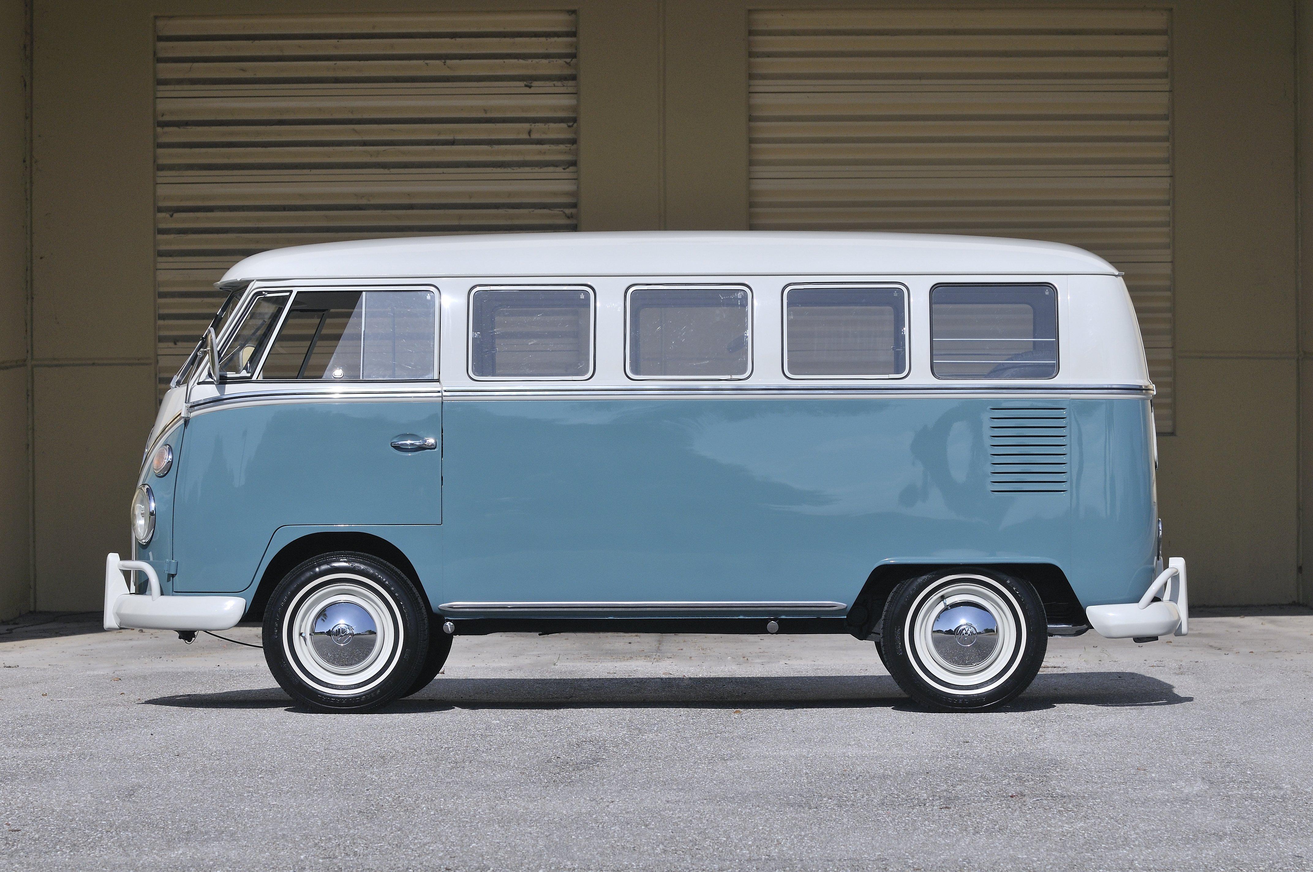 1967 volkswagen vw 13 window bus kombi classic old usa 4288x2848-06