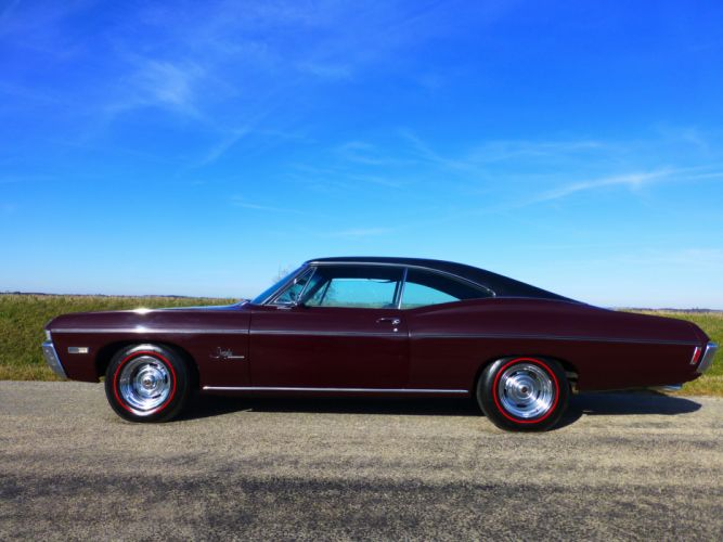 1968 Chevrolet Impala SS Coupe Hardtop Muscle Classic USA 4200x3150-04 wallpaper