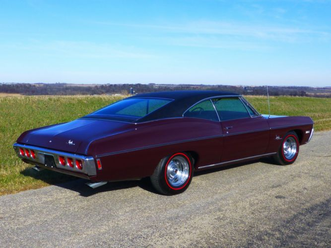 1968 Chevrolet Impala SS Coupe Hardtop Muscle Classic USA 4200x3150-03 wallpaper