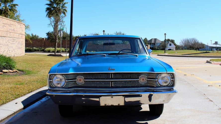 1968 Dodge Dart Coupe Deluxe Muscle Classic USA 2048x1150-04 wallpaper