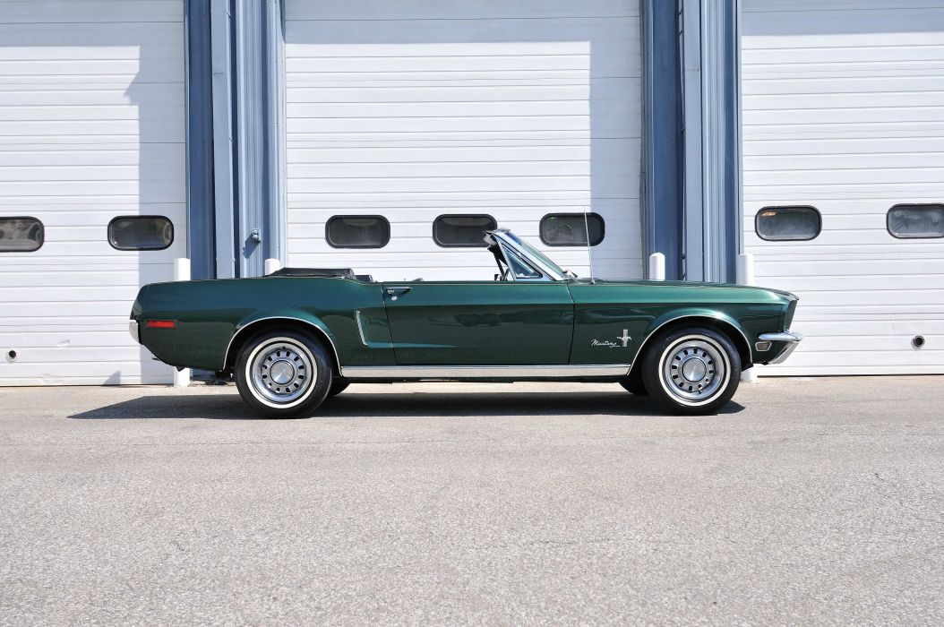 1968 Ford Mustang Convertible Muscle Classic Old USA 4288x2848-02 wallpaper