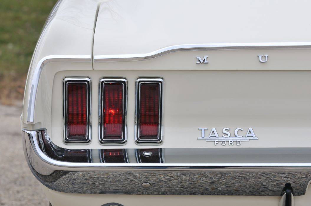 1968 Ford Mustang Lightweight White Muscle Classic Old USA 4288x2848-04 wallpaper