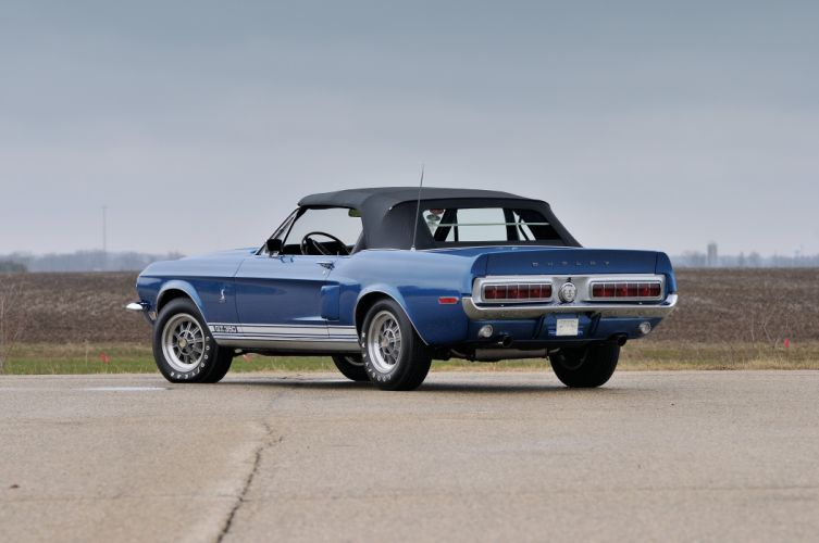 1968 Ford Mustang Shelby GT350 Convertible Muscle Classic Old USA 4288x2848-03 wallpaper