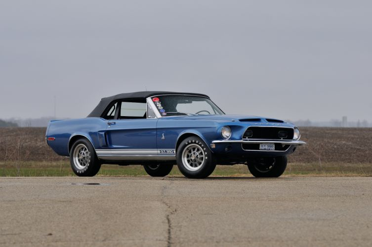1968 Ford Mustang Shelby GT350 Convertible Muscle Classic Old USA 4288x2848-01 wallpaper