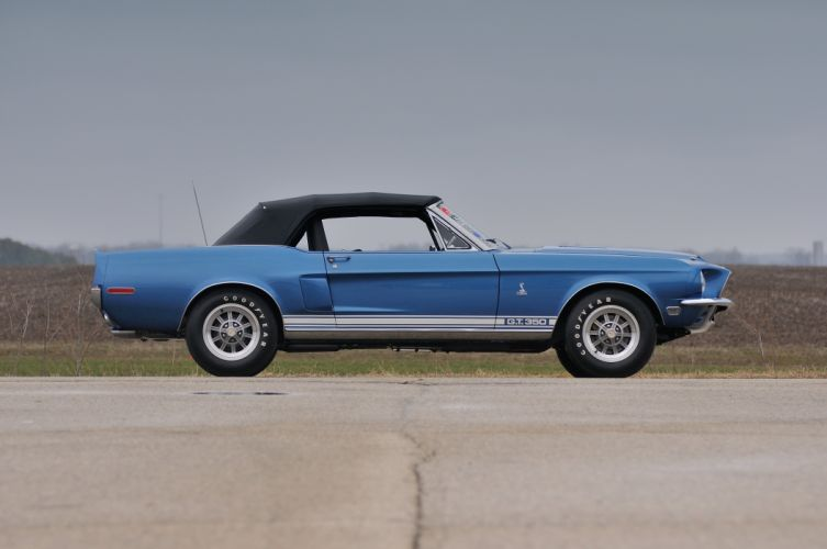 1968 Ford Mustang Shelby GT350 Convertible Muscle Classic Old USA 4288x2848-02 wallpaper