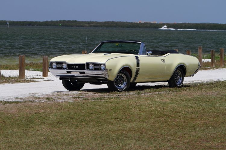 1968 Oldsmobile 442 Convertible Muscle Classic Old USA 2048x1365-01 wallpaper