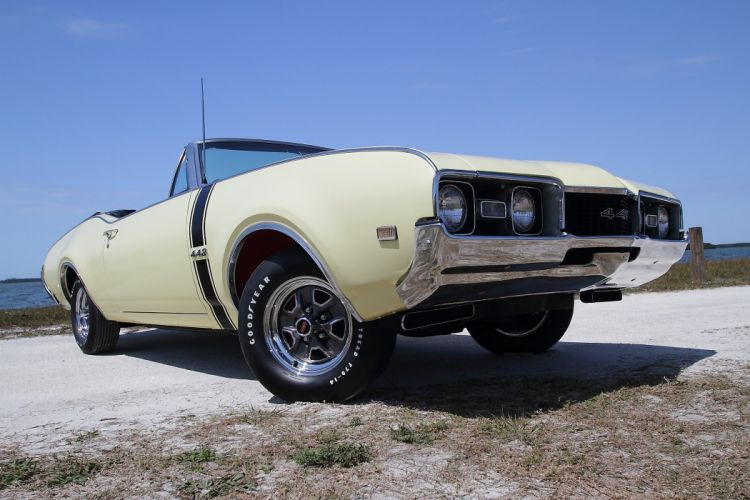 1968 Oldsmobile 442 Convertible Muscle Classic Old USA 2048x1365-05 wallpaper