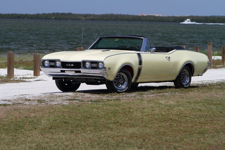 1968 Oldsmobile 442 Convertible Muscle Classic Old USA 2048x1365-10 wallpaper