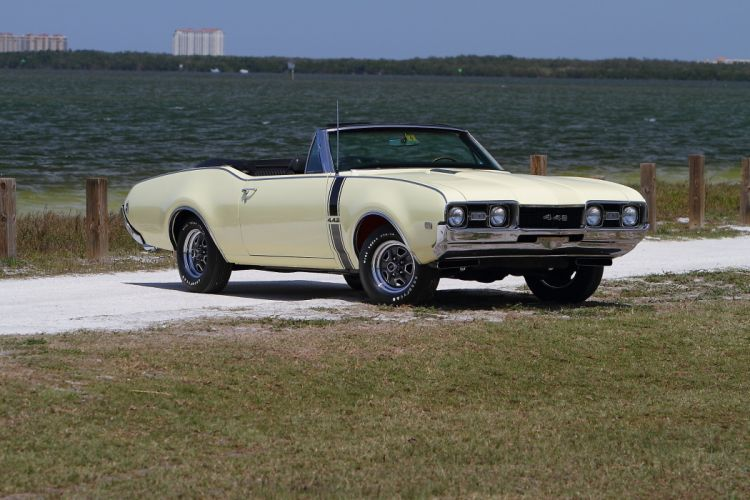 1968 Oldsmobile 442 Convertible Muscle Classic Old USA 2048x1365-09 wallpaper