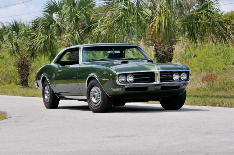 1968 Pontiac Firebird Ram AirII Muscle Classic Old USA 4200x2790-01 wallpaper