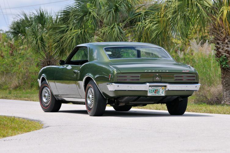 1968 Pontiac Firebird Ram AirII Muscle Classic Old USA 4200x2790-03 wallpaper