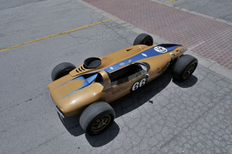 1968 Shelby Turbine Indy Car Race Classic Old 4288x2848-07 wallpaper