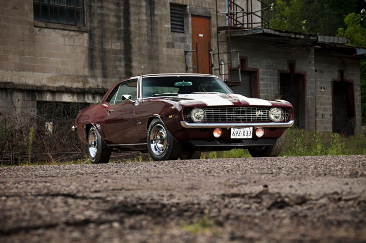 1969 Chevrolet Camaro Z28 Muscle Classic Old 5616x3730-03 wallpaper